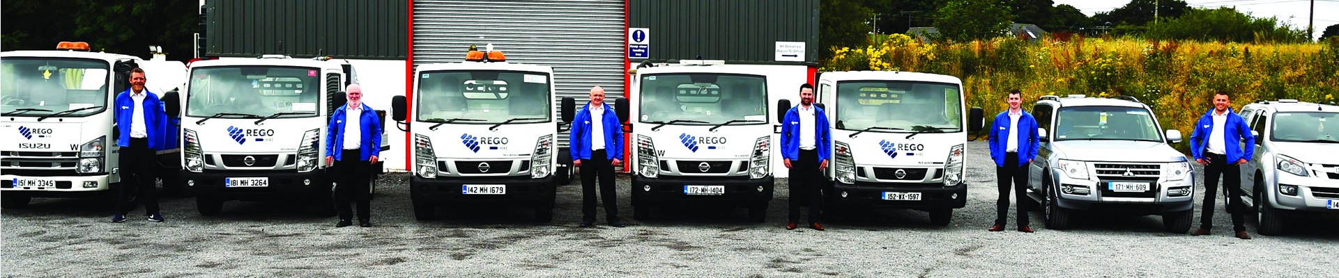 Rego Hire, Services